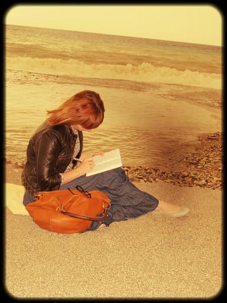 Творчество на море, я реально так пишу, где придется:))